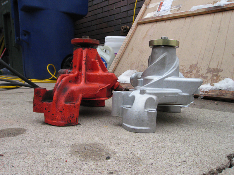 when replacing the water pump do you have to replace both the cover and the pump or can you just replace the pump?